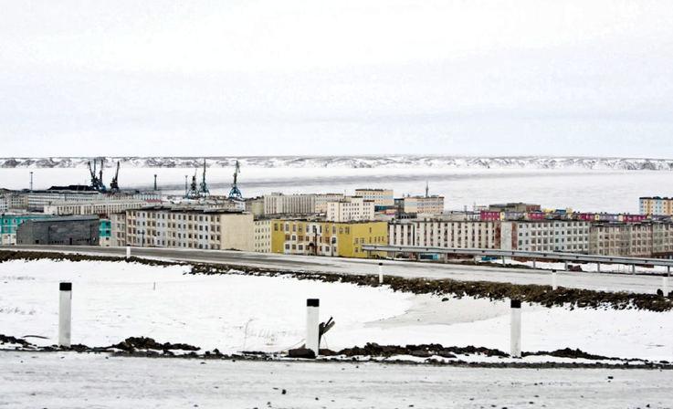 Der an der Nordmeerküste gelegene Ort Pevek liegt in Tschukotka und hat rund 4'700 Einwohner. Es