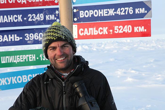 Der Kameramann Simon Usteri war schon bei den Dreharbeiten vor einem Jahr dabei.